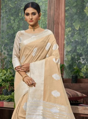 Fancy Linen Trendy Saree