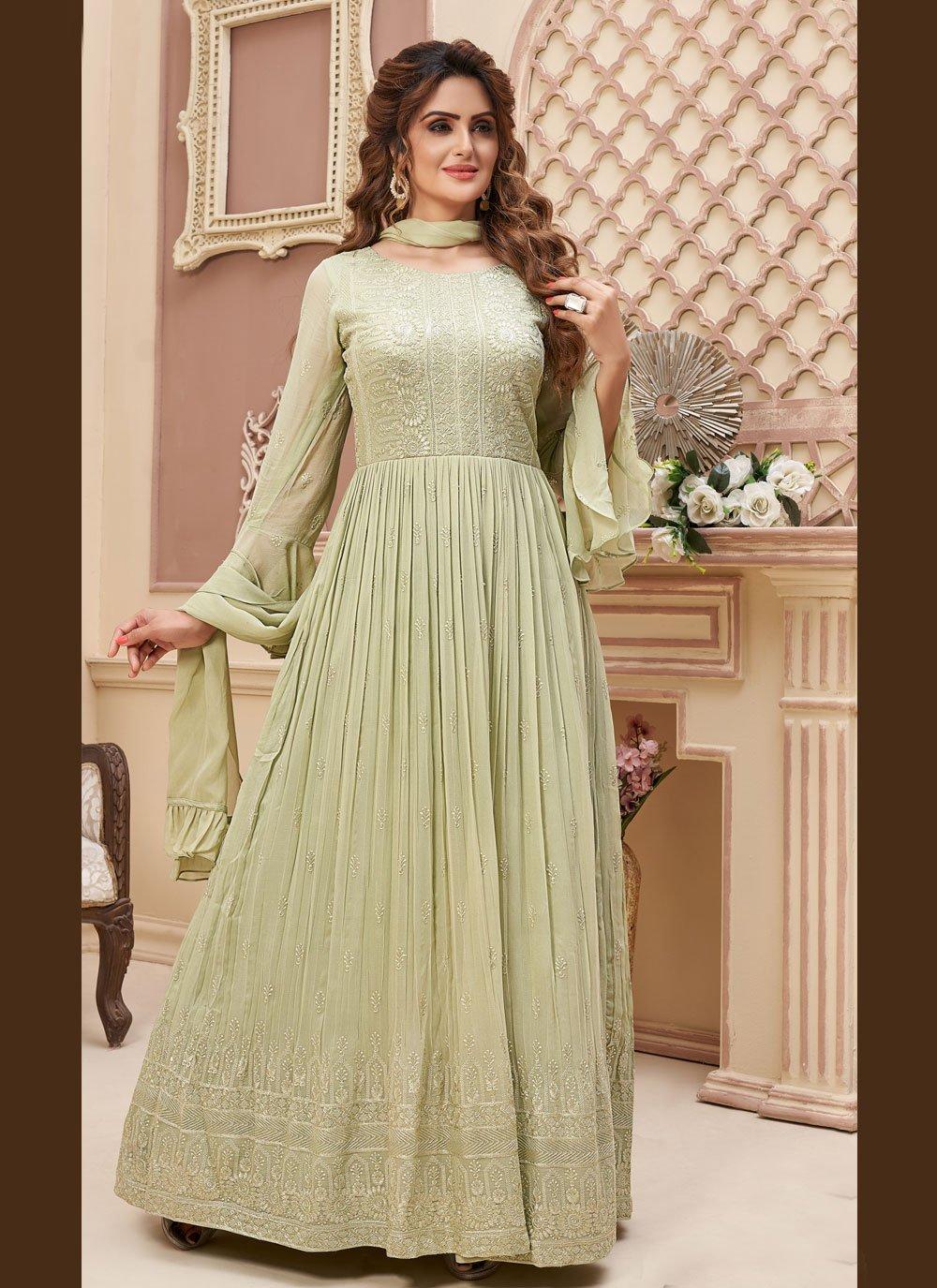 Fancy Readymade Anarkali Suit