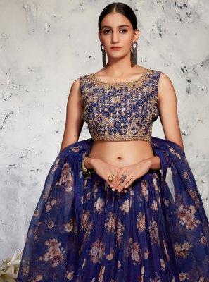 Fancy Sangeet Readymade Lehenga Choli