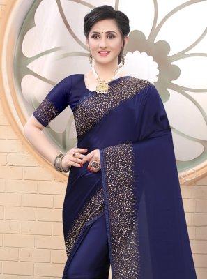 Fancy Satin Classic Designer Saree