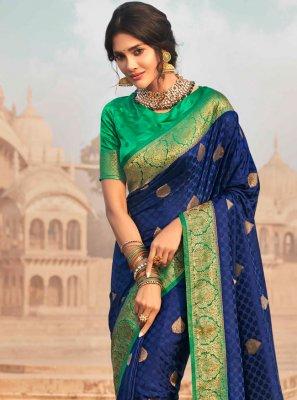 Fancy Silk Classic Designer Saree
