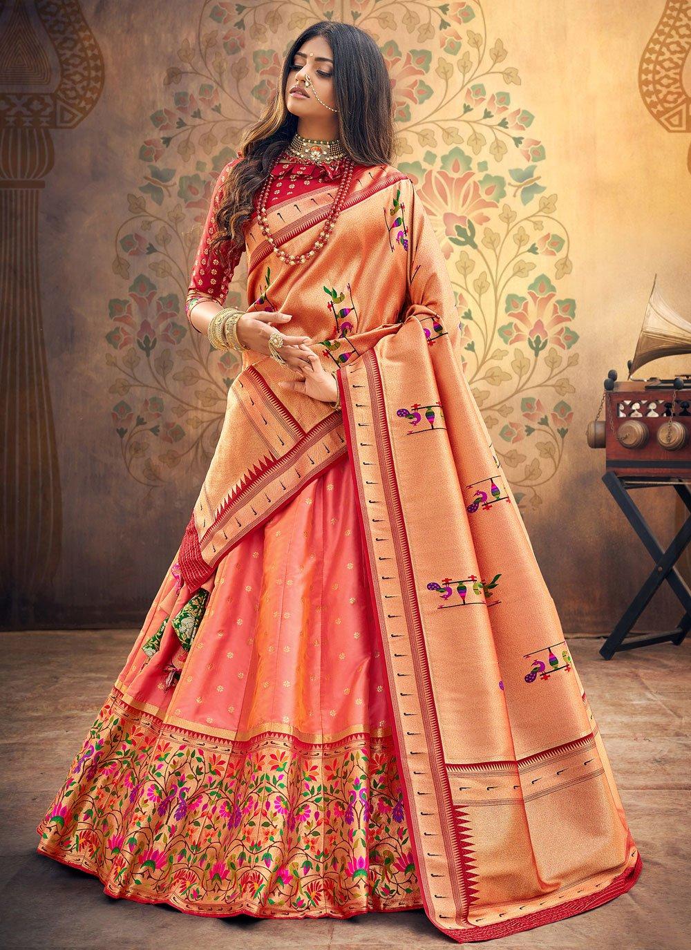 Fancy Silk Lehenga Choli