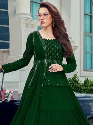 Faux Georgette Bollywood Salwar Kameez