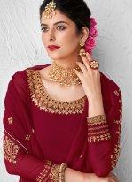 Faux Georgette Designer Kameez Style Lehenga Choli