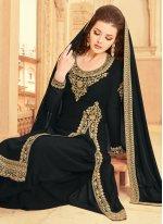 Faux Georgette Resham Designer Pakistani Suit
