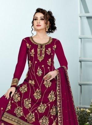 Georgette Designer Pakistani Suit