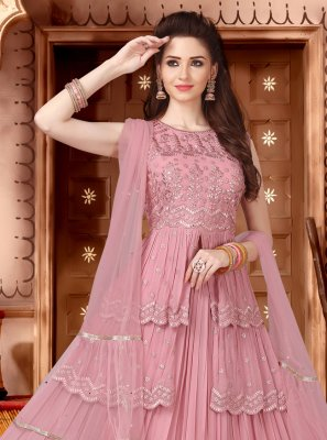 Georgette Readymade Lehenga Choli