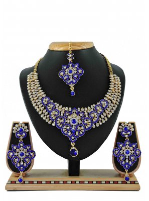 Gold Casual Necklace Set