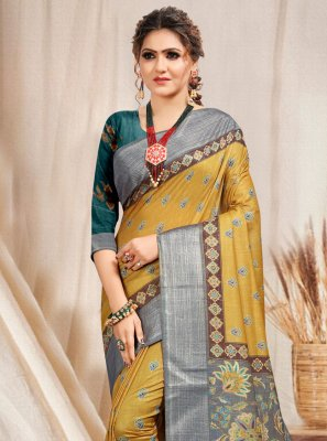 Gold Ceremonial Classic Saree