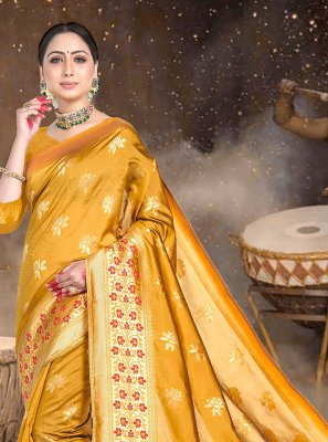 Gold Classic Saree