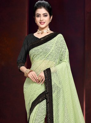 Green Bollywood Saree