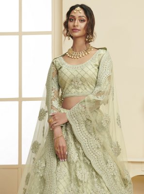 Green Color Lehenga Choli