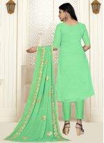Green Designer Salwar Kameez