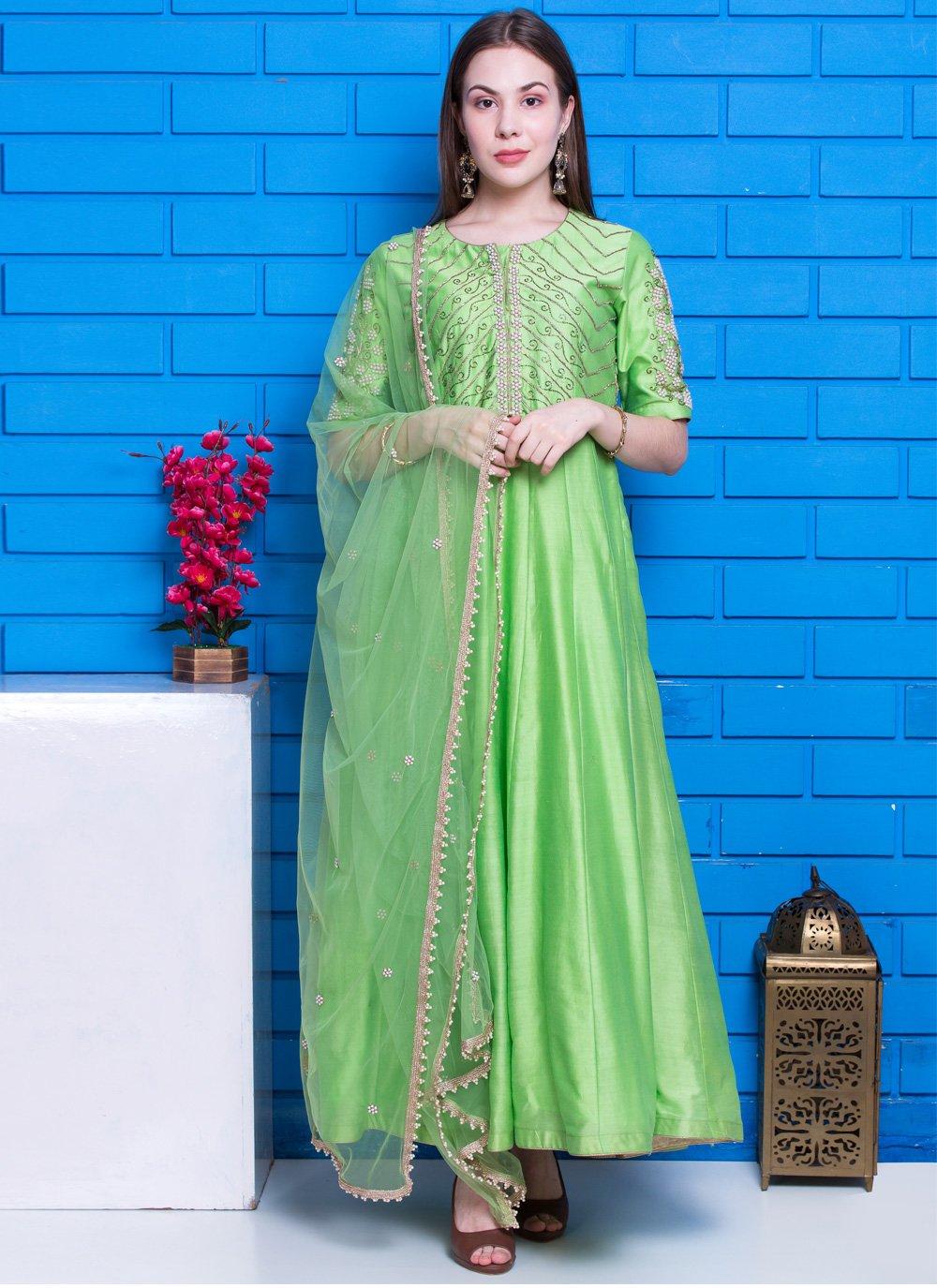 Green Festival Designer Suit