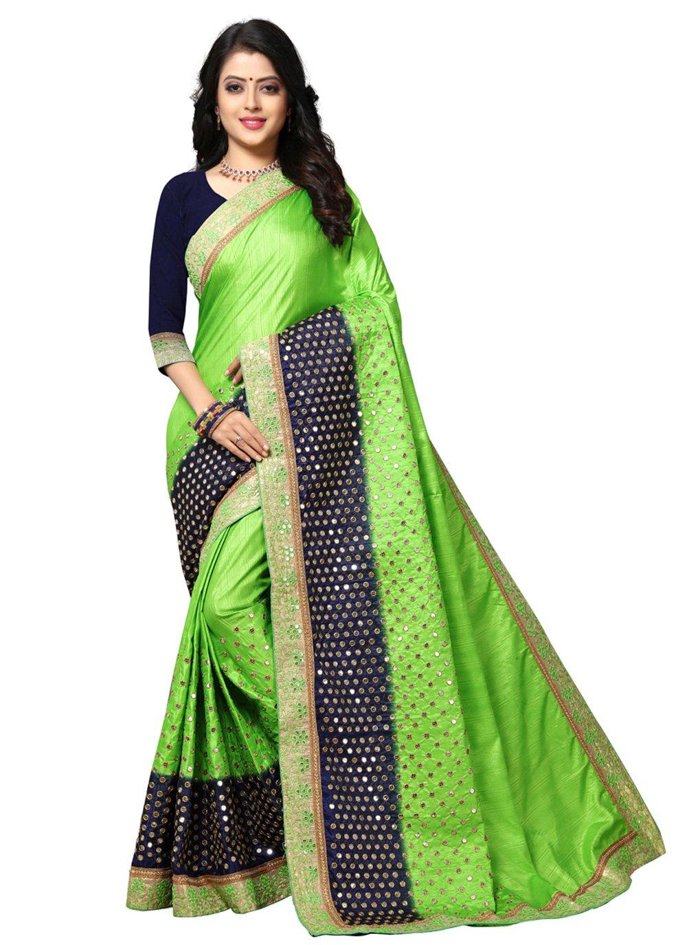 Green Festival Silk Traditional Saree