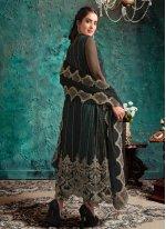 Green Net Designer Pakistani Suit