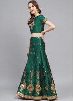 Green Trendy Lehenga Choli