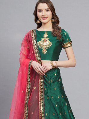 Green Trendy Lehenga Choli