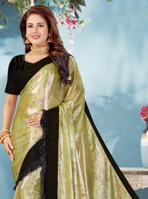 Green Wedding Classic Designer Saree