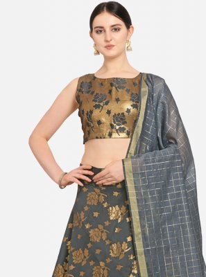 Grey Color Lehenga Choli