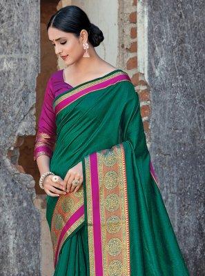 Handloom Cotton Weaving Classic Designer Saree