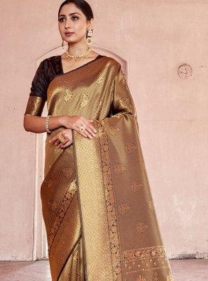 Handloom silk Festival Traditional Designer Saree