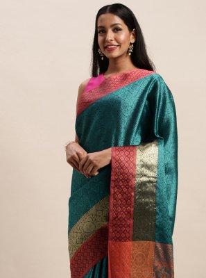 Handloom silk Woven Traditional Saree