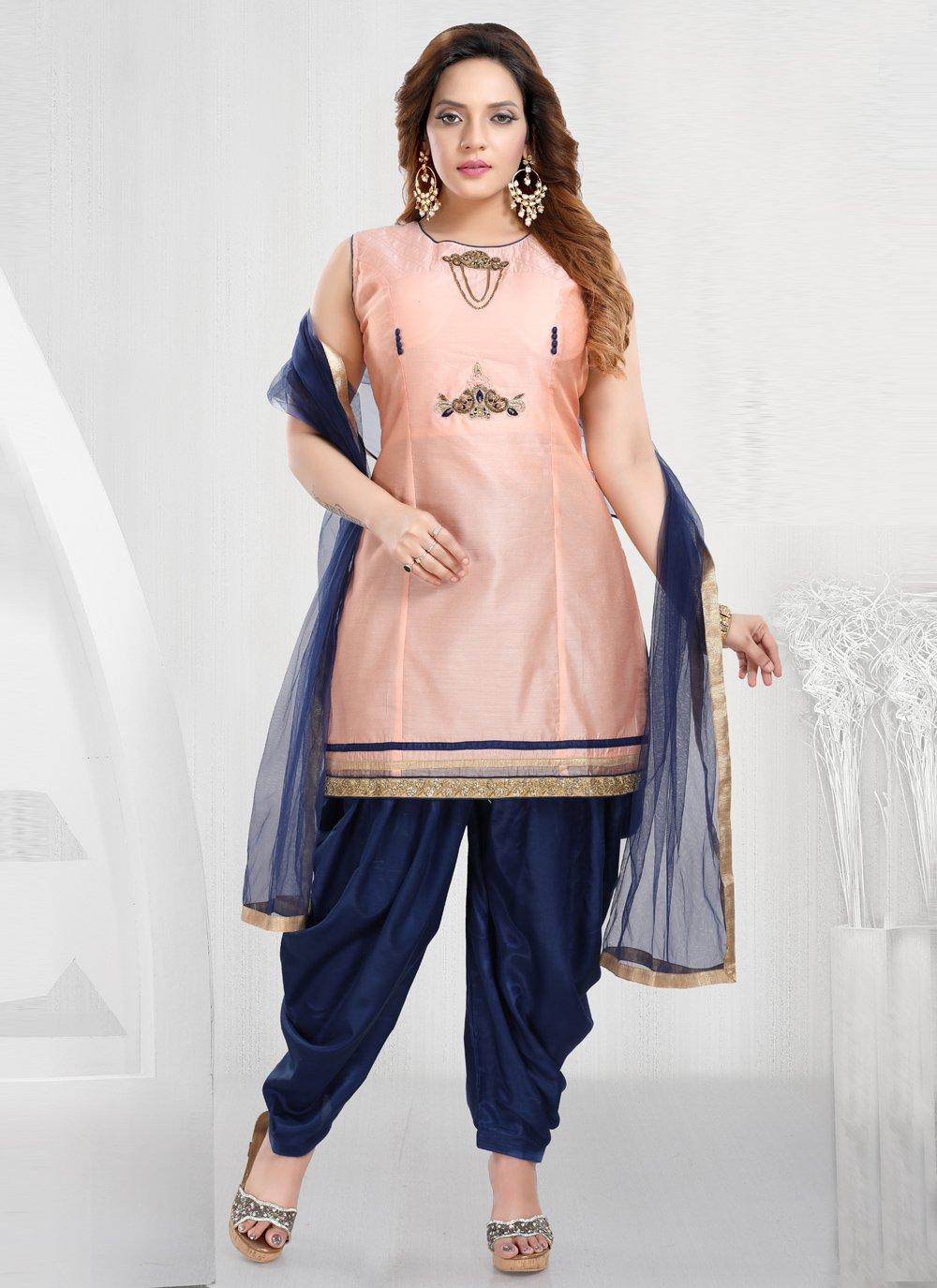 Handwork Designer Patiala Suit