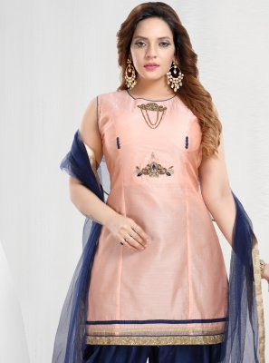 Handwork Designer Patiala Suit