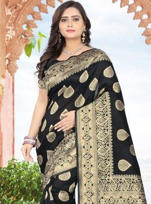 Jacquard Printed Classic Designer Saree