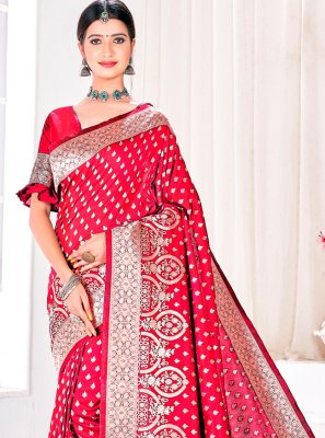 Jacquard Silk Festival Designer Traditional Saree