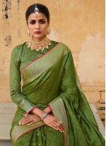 Jacquard Silk Festival Traditional Saree