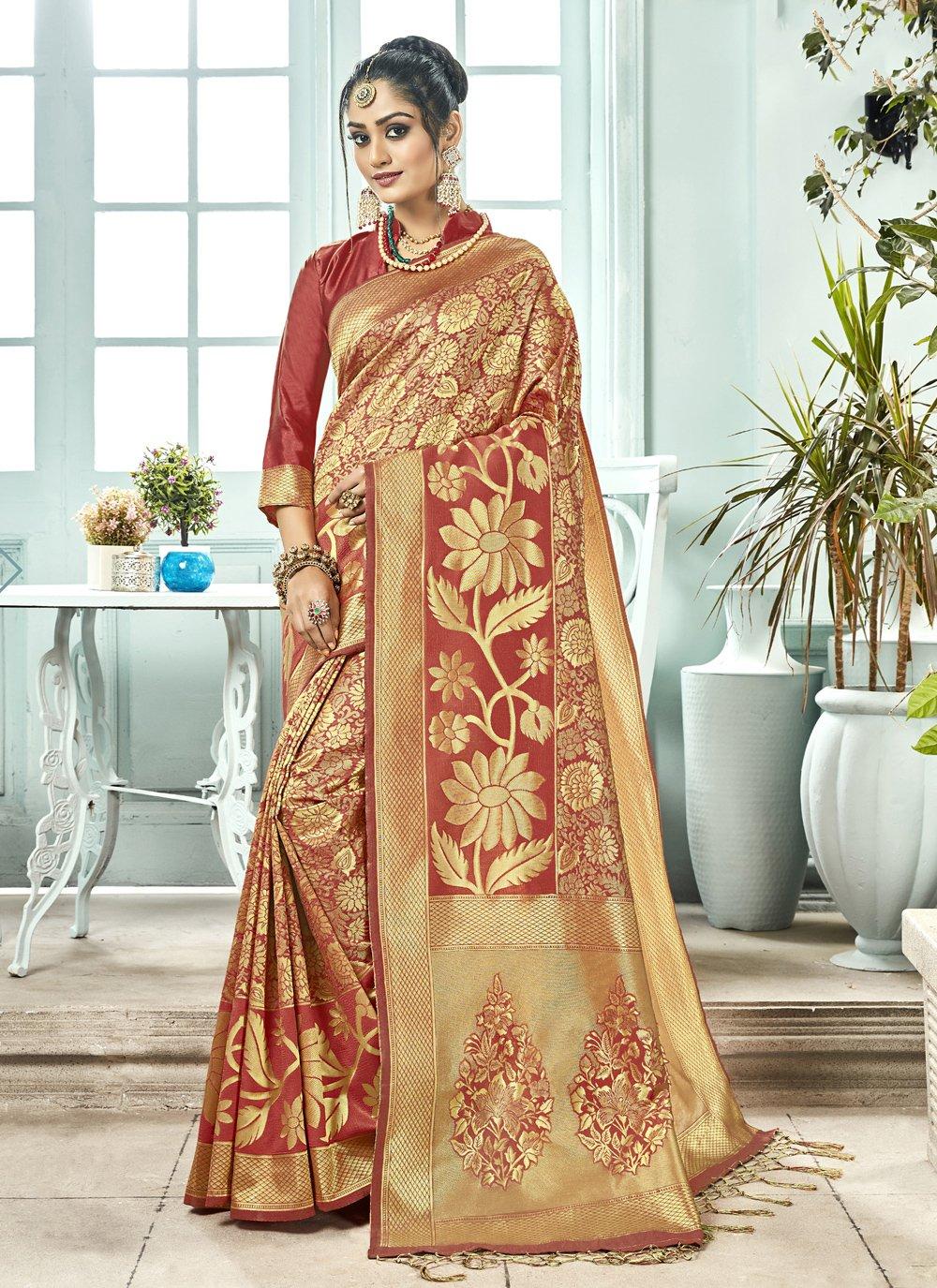 Kanchipuram Silk Designer Saree