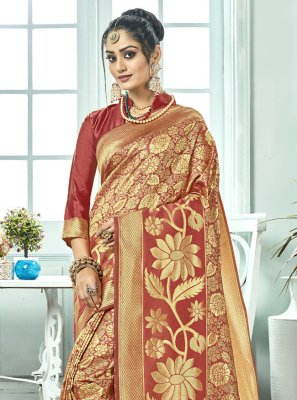 Kanchipuram Silk Designer Saree