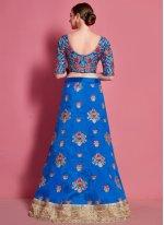 Lace Art Silk A Line Lehenga Choli