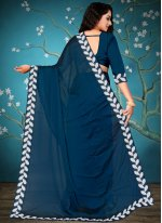 Lace Ceremonial Traditional Saree