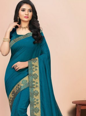 Lace Silk Contemporary Saree