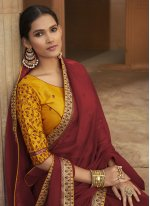Lace Traditional Saree