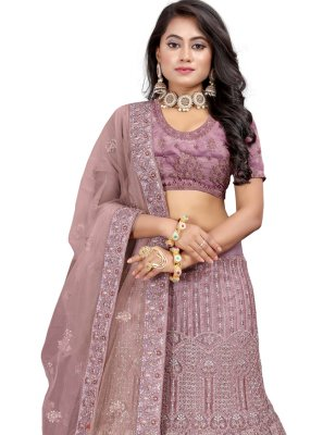 Lavender Sangeet Lehenga Choli
