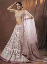 Lavender Thread Lehenga Choli