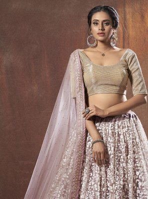 Lavender Thread Lehenga Choli