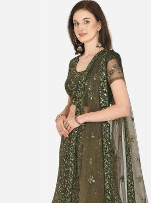 Lehenga Choli For Mehndi