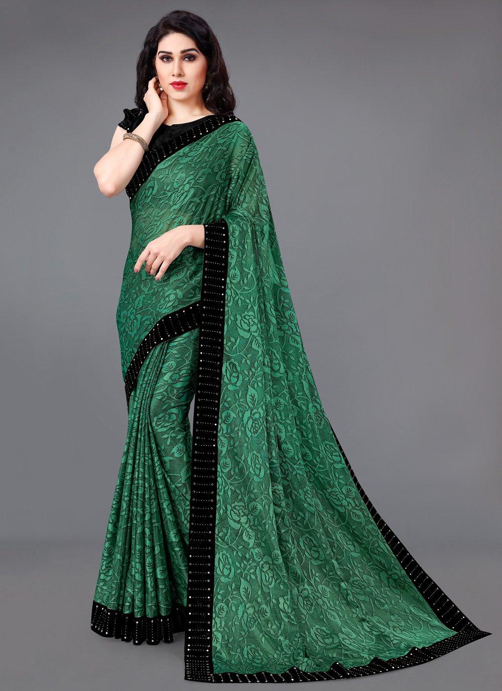 Lycra Traditional Saree