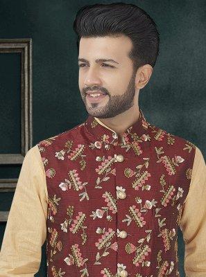 Maroon Color Nehru Jackets