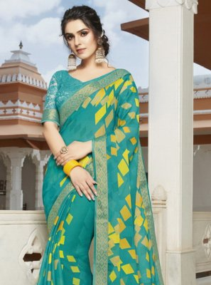 Multi Colour Bollywood Saree