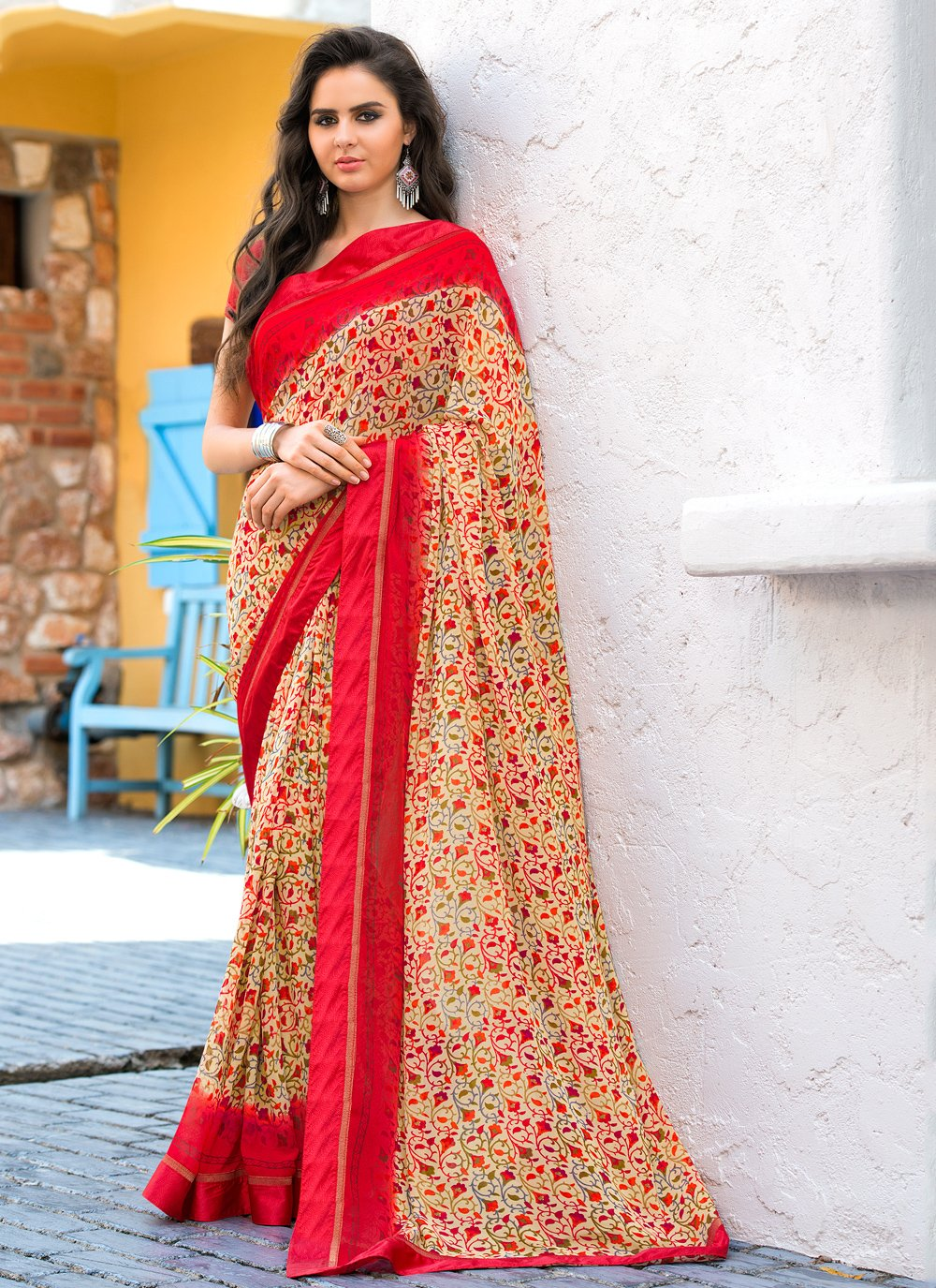 Multi Colour Casual Weight Less Casual Saree