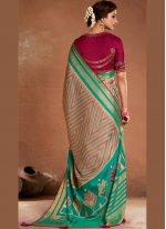 Multi Colour Ceremonial Designer Traditional Saree