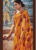 Multi Colour Color Casual Saree