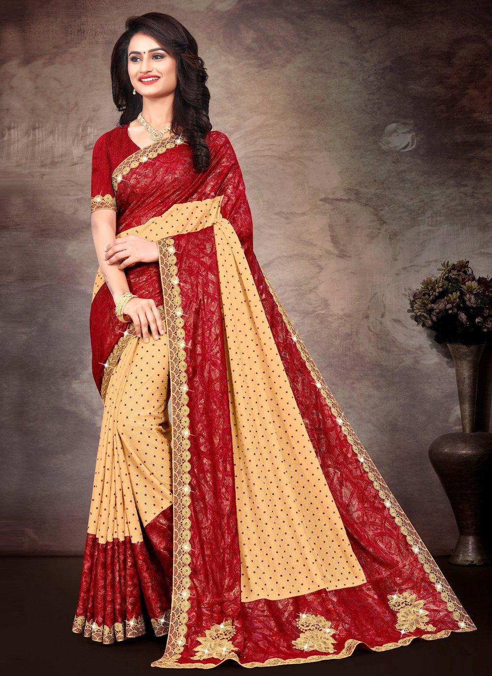 Multi Colour Color Contemporary Saree