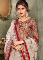 Multi Colour Color Designer Pakistani Salwar Suit